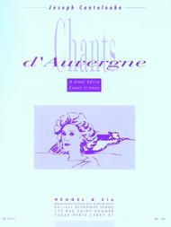 Auvergne Songs - Serie 4 (voice And Piano)