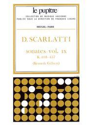 Domenico Scarlatti: Sonatas, Volume 9