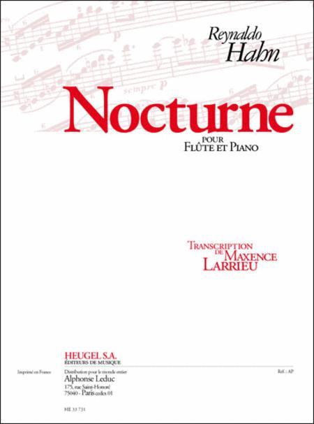 Nocturne Pour Flute Et Piano