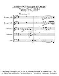 Lullabye (Goodnight, My Angel) (Brass Quintet)