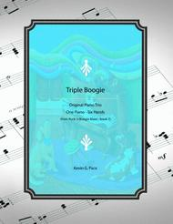 Triple Boogie - piano trio for one piano - six hands