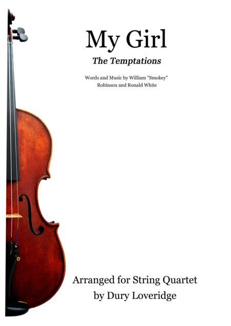 My Girl - The Temptations - Smokey Robinson - String Quartet