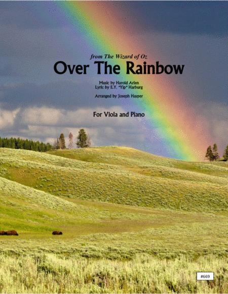 Over The Rainbow (from The Wizard Of Oz) (Viola and Piano)