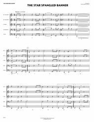 The Star Spangled Banner (for Flex Brass Quintet)