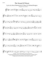 The Sound Of Music - Violin