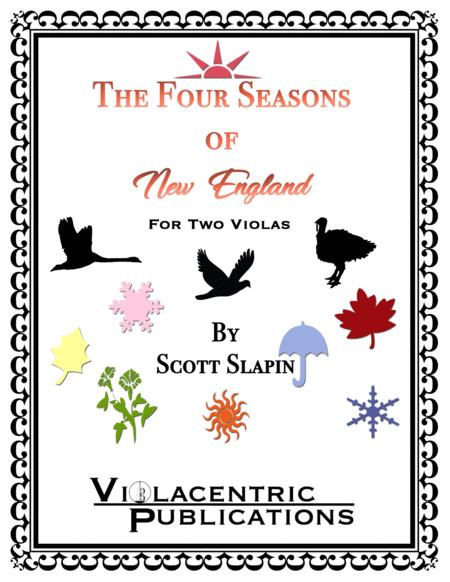 The Four Seasons of New England (for Two Violas)
