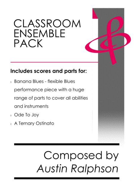 Classroom Ensemble Pack - mixed ability book of classroom performance pieces