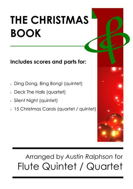 The Christmas Book - flute quartet and quintet pack / bundle