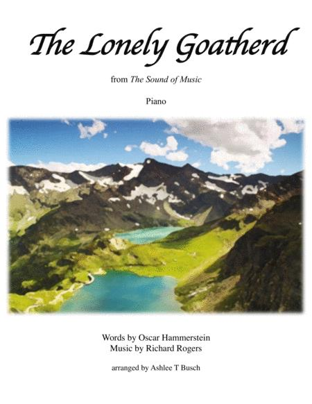 The Lonely Goatherd for Piano