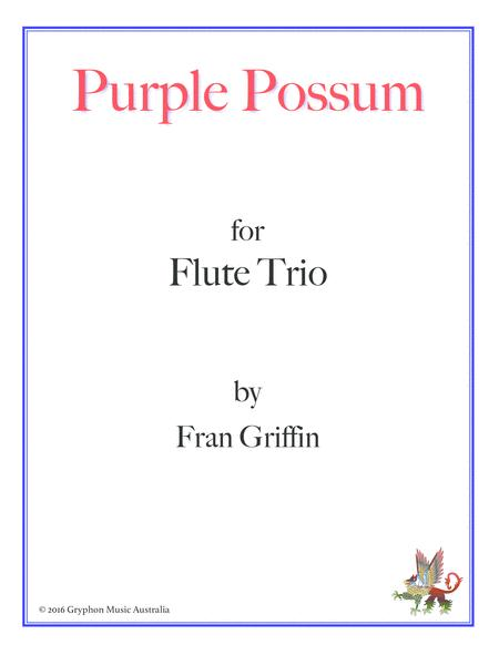 Purple Possum for Flute Trio