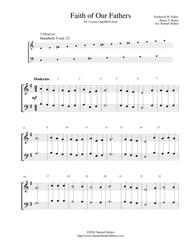Faith of Our Fathers - for 3-octave handbell choir