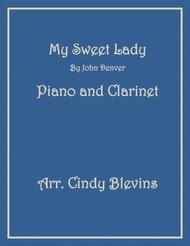 My Sweet Lady, for Piano and Clarinet