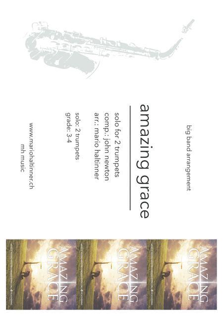 Amazing Grace - Jazz Ensemble - score & parts