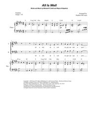 All Is Well (for SATB)