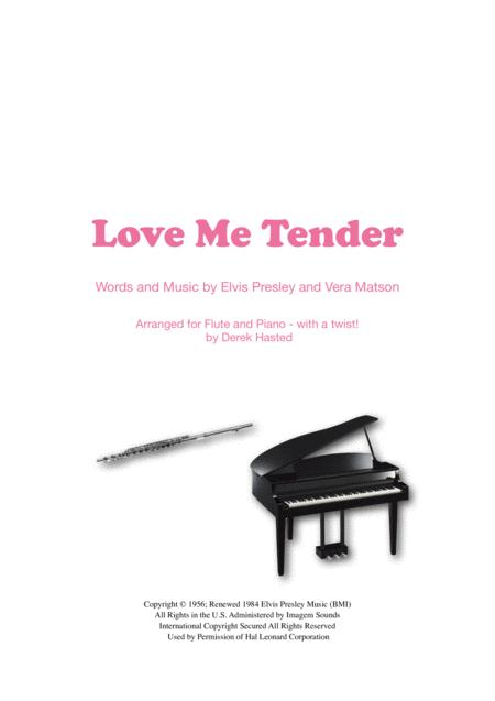 Love Me Tender (Presley meets Bach) - Flute & Piano