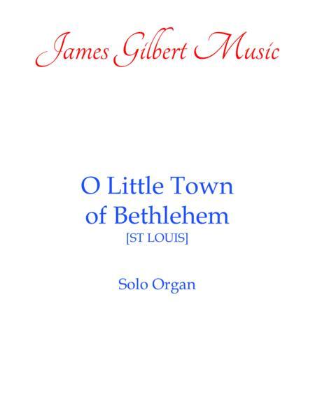 O Little Town Of Bethlehem (OR101)