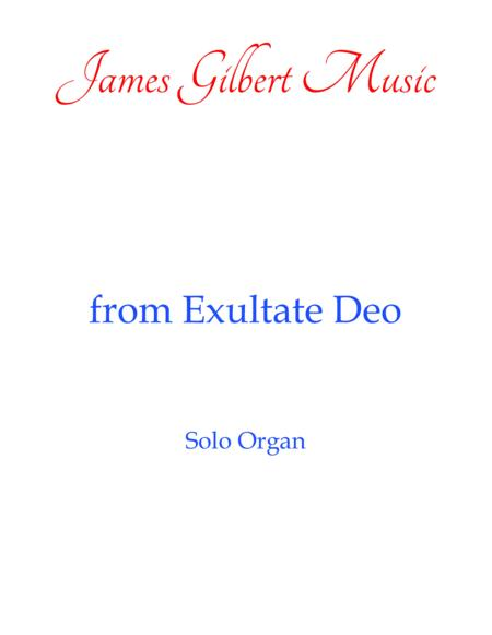 from Exultate Deo (OR088)