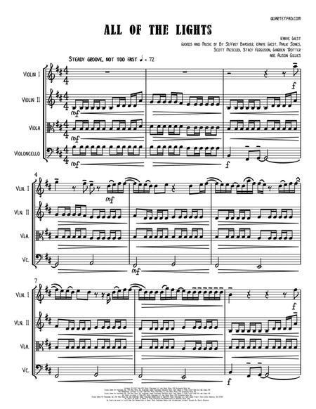All Of The Lights - String Quartet