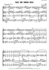 Half The World Away - String Quartet