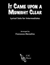 It Came upon a Midnight Clear (Intermediate Piano)