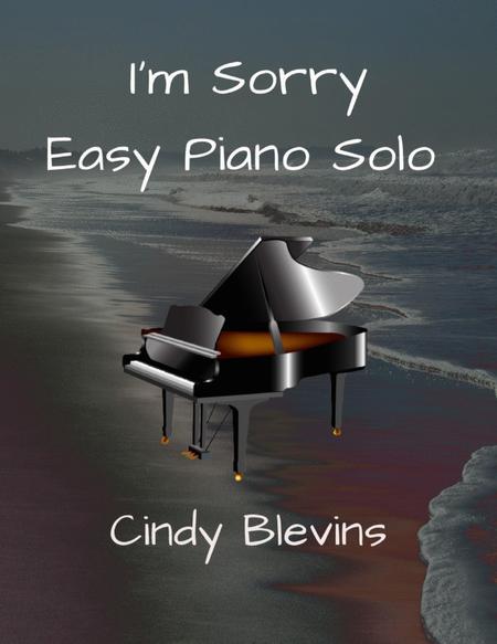 I'm Sorry, Easy Piano Solo