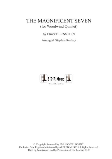 The Magnificent Seven for Woodwind Quintet