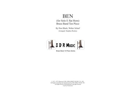 Ben for Solo Eb Horn and Brass Band 10/11 Piece