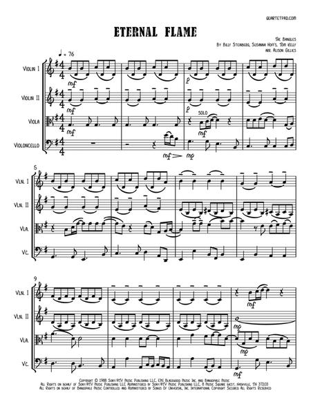 Eternal Flame - String Quartet