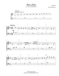 Pat-a-Pan - for 2-octave handbell choir