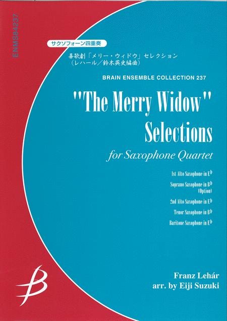 The Merry Widow Selections for Saxophone Quartet