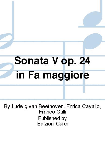 Sonata V op. 24 in Fa maggiore