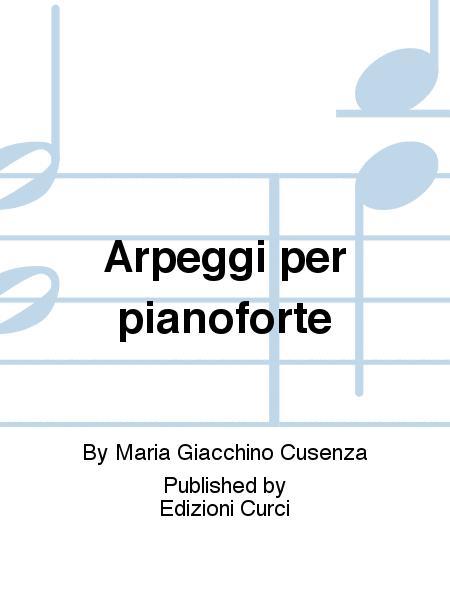 Arpeggi per pianoforte
