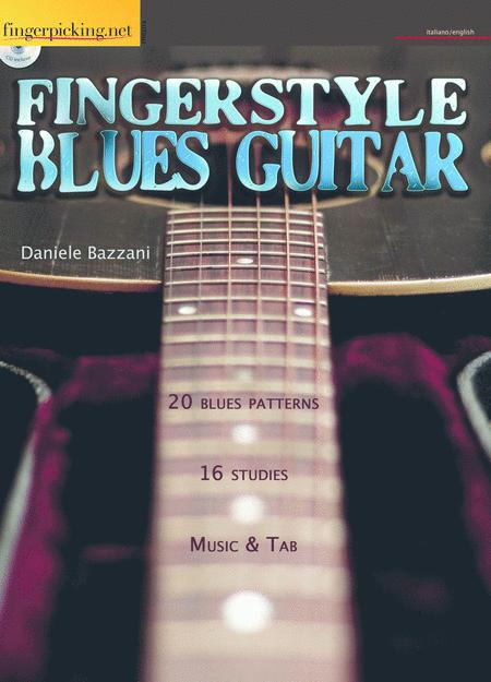 Fingerstyle Blues Guitar Sheet Music By Daniele Bazzani - Sheet