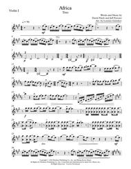 Download Africa Sheet Music By Toto - Sheet Music Plus