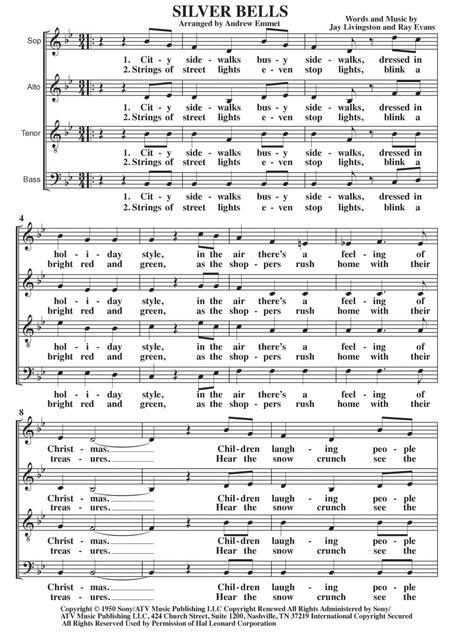 Silver Bells A Cappella