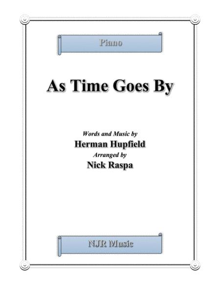 As Time Goes By (intermediate piano)