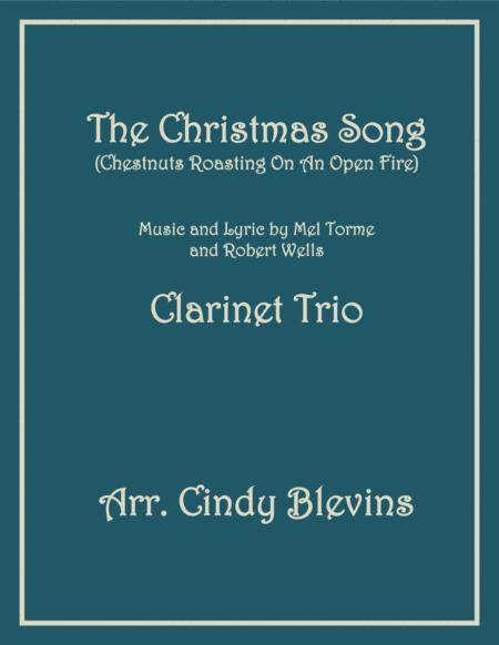 The Christmas Song (Chestnuts Roasting On An Open Fire), for Clarinet Trio