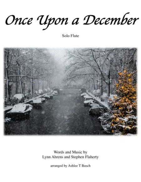Once Upon A December for Solo Flute