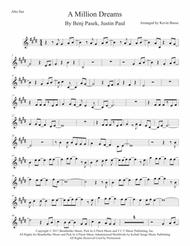 photo about Free Printable Alto Saxophone Sheet Music known as Obtain A Million Desires (First Mystery) - Alto Sax Sheet