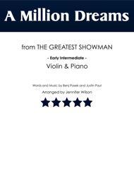 A Million Dreams - Violin & Piano (early intermediate)