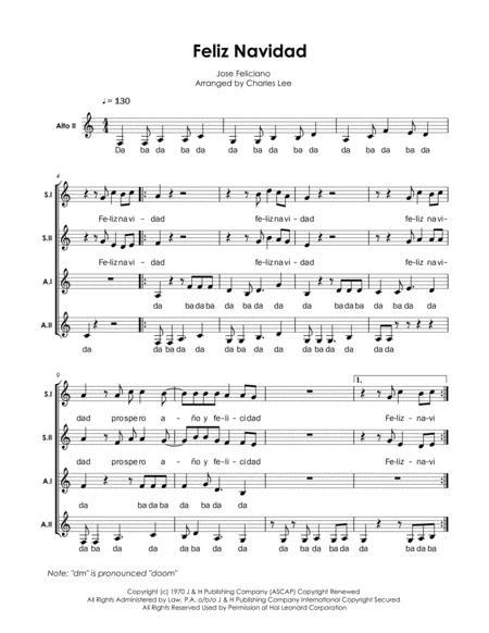Feliz Navidad - SSAA a cappella