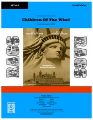 Children Of The Wind from the musical Rags - VOCAL SOLO (key of G) - PIANO/VOCAL
