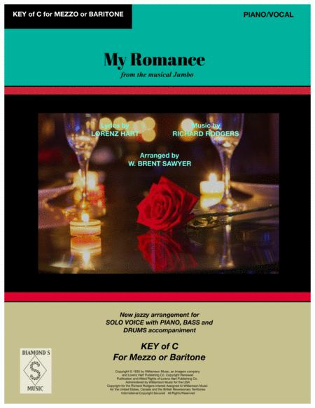 My Romance - VOCAL SOLO (Key of C) with PIANO/BASS/DRUMS