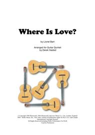 Where Is Love? - Guitar Quintet