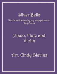 Silver Bells, for Piano, Flute and Violin