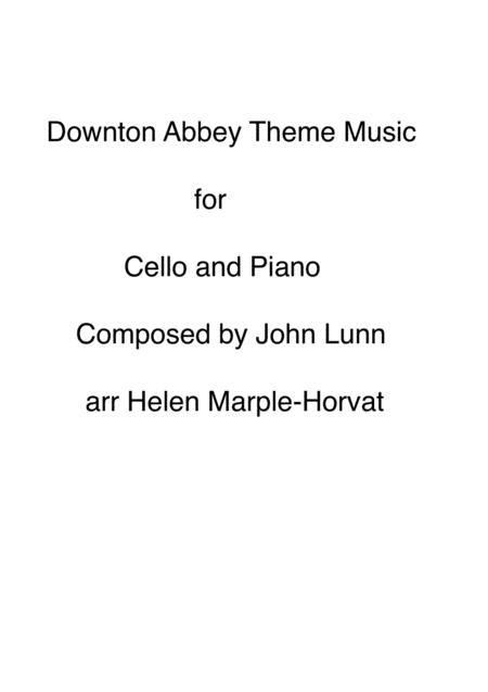 DOWNTON ABBEY FOR CELLO AND PIANO