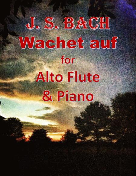 Bach: Wachet auf for Alto Flute & Piano