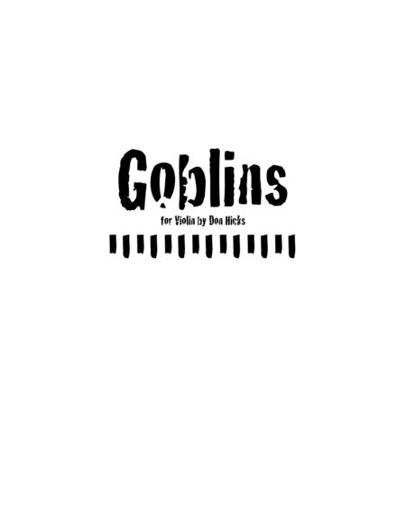Goblins, a Rock Solo for Violin