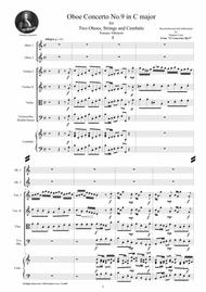 Albinoni - Oboe Concerto No.9 in C major Op.9 for Two Oboes, Strings and Cembalo