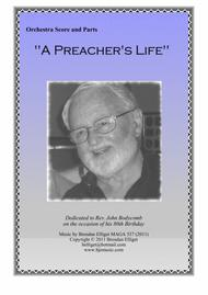 Download A Preacher's Life - Orchestra Score And Parts PDF Sheet